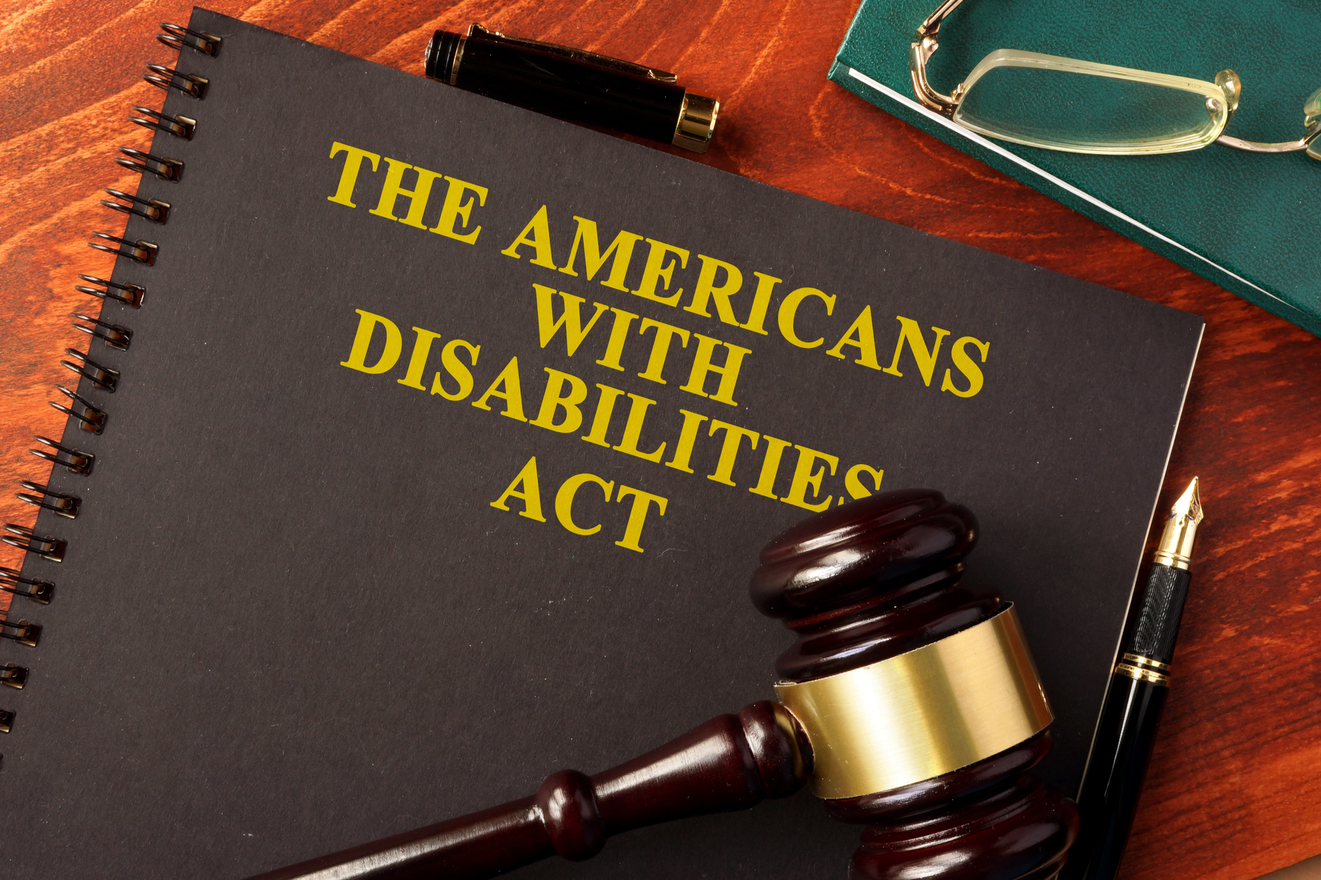 Book with title The Americans with Disabilities Act